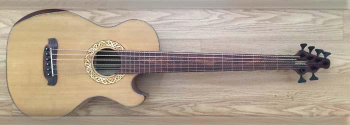 Watson Guitars 08B023 6 String Acoustic Bass