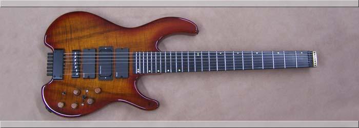 Headless 8 String Guitar Headless 7-string Guitar Bolt